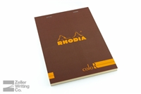 Rhodia ColoR Premium - 5.875 x 8.25 - Chocolate - Lined