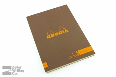 Rhodia ColoR Premium - 5.875 x 8.25 - Taupe - Lined
