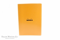 Rhodia Classic Side Staplebound Notebook - 8.25 x 11.75 - Orange - Lined