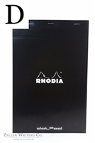 Rhodia Dotpad - 8.25in x 12.5in - Black