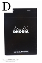 Rhodia Dotpad - 5.875in x 8.375in - Black