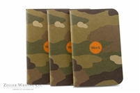 Word Notebooks 3-Pack - Traditional Camo