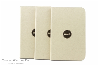 Word Notebooks 3-Pack - Natural
