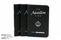 Word Notebooks 3-Pack - Adventure Log - Black