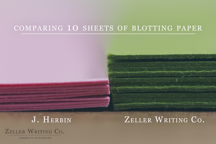 Heavyweight Green Blotting Paper Sheets