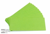 Small Rocker Blotter Green Refill Paper