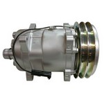 Sanden Compressor, w/ Clutch - New