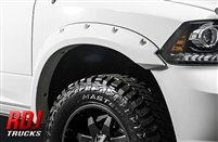 Dodge Ram 1500 2009-2018 RDJ Trucks PRO-OFFROAD Bolt-On Style Fender Flares | 10-2010