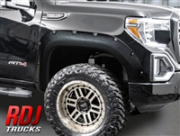 2019-2020 GMC Sierra 1500 PRO-OFFROAD Bolt-On Style Fender Flares by RDJ Trucks | 10-4019