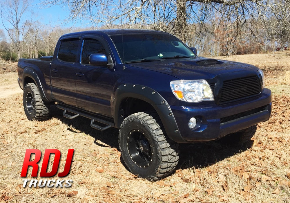 2005 2011 Toyota Tacoma Pro Offroad Bolt On Style Fender Flares By Rdj Trucks 10 6010 10 6011