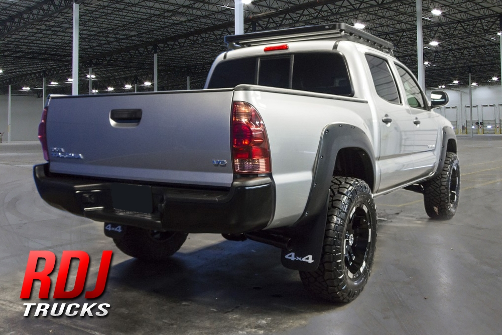 2012 2015 Toyota Tacoma Pro Offroad Bolt On Style Fender Flares By Rdj Trucks 10 6012 10 6013