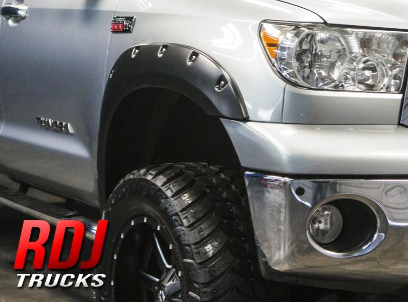 Toyota Tundra 2007 2013 Rdj Trucks Pro Offroad Bolt On Style Fender Flares 10 6015