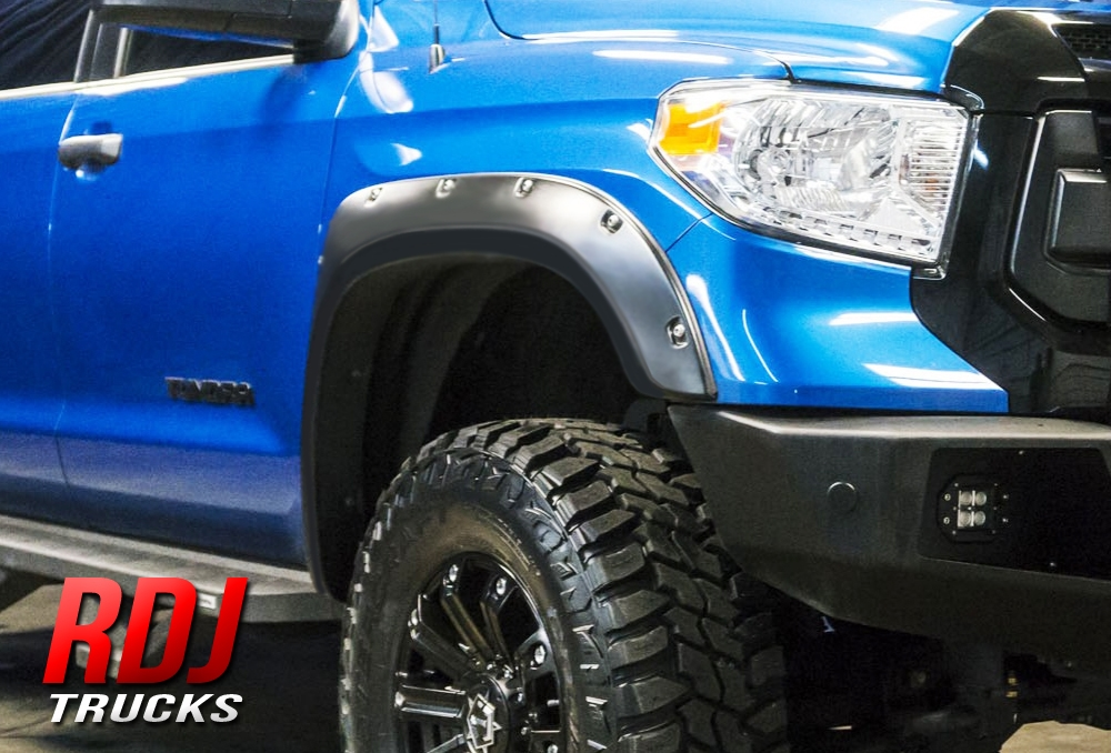 Set of 4 RDJ Trucks PRO-Offroad Bolt-On Style Fender Flares Colorado//Canyon 2004-2012 Smooth Paintable