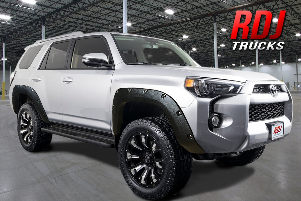PRO-OFFROAD Bolt-On Style Fender Flares