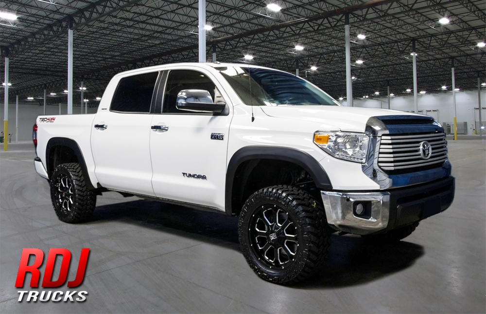Toyota Tundra 2014 2020 Rdj Trucks Hwy Pro Oem Factory Style Fender Flares 40 6016