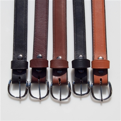 "Python Gun Belt 1.25"" (Horsehide) - Sizes 30"" to 48"""