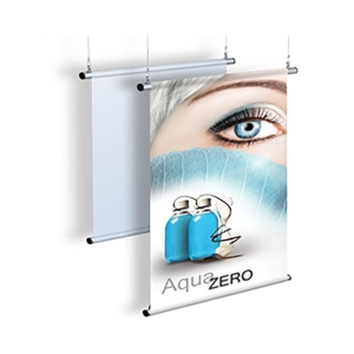 Economy Hanging Banner Display for Vertical or Horizontal Banners