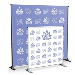 Grand Format Adjustable Banner Stand Signs