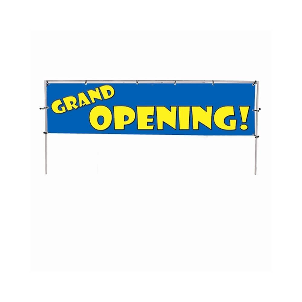 GRAND OPENING Coroplast Sandwich Board 2-sided Sign Kit