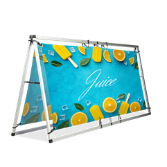 Monsoon Large Banner Display