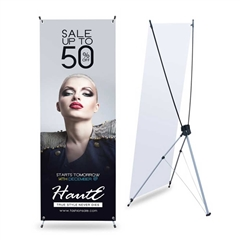 "Economy X Banner Stand 32"" x 72"""