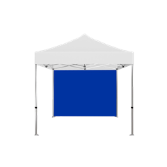 10' x 10' Solid Color Tent Back Wall