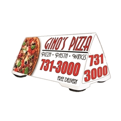 Car Top Lighted Delivery Sign - The Quad