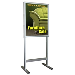 PosterGrip Floor Stand Snap Frames