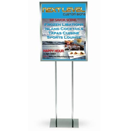 Display Floor Stand, Indoor Sign Stands, Floor Signs, Floor Stand