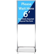Deluxe Bulletin Sign Holder