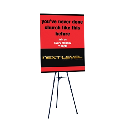 easel stands easel displays stands tripod sign stand
