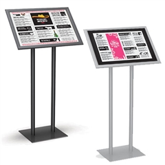"EasyOpen Snap Frame Menu Stand-17"" x 11"" to 22"" x 14"""