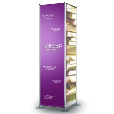 Fixed Width Square Tower Banner Display