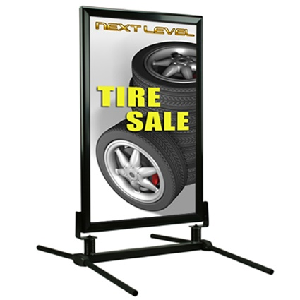 WindMaster Classic Outdoor Sign Snap Frame