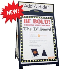 "The Billboard Plasticade A-Frame Sign - 36"" x 48"""