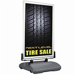 WindMaster Portable Outdoor Sign Snap Frame