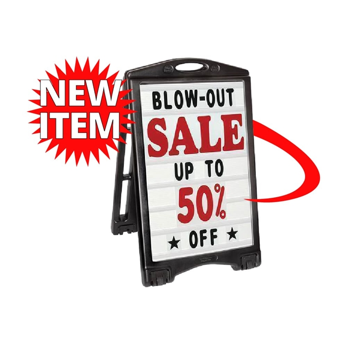 A-Plus Frame Sign Message Board - Deluxe