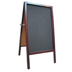 Durable Chalkboard A Frame Outdoor Sign