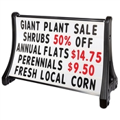 "QLA Roadsideâ""¢ Message Board Portable Sign- 36"" x 48"""