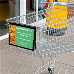 Shopping Cart Sign Frame