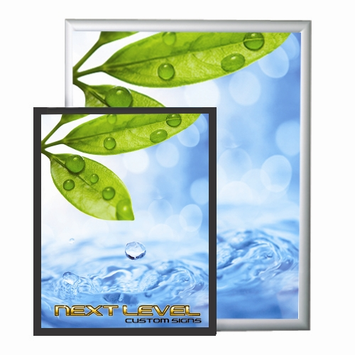 trappa, snap open frame, aluminum snap frame, poster frames cheap, Powerpoint templates