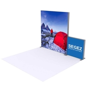 SEGEZ LED Lighted Fabric Graphic Package D