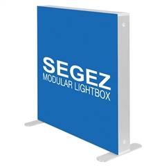 SEGEZ LED Lit Frame with Fabric Graphic