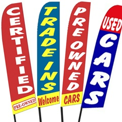 Used Cars Swooper Flags