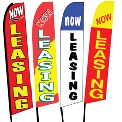 Now Leasing Swooper Flags