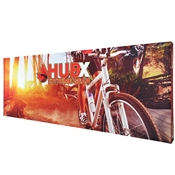 20' Straight Pop Up Display Graphic Package Fabric Banner