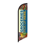 Feather Flag (Small) - Custom Printed Flags