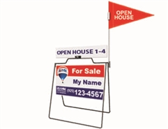 Wire Real Estate Open House Sign Package