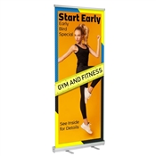 "Standard Retractable 47"" x 81"" Graphic Package"