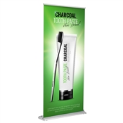 "Premium Retractable 36"" x 92"" (Silver)  Graphic Package"